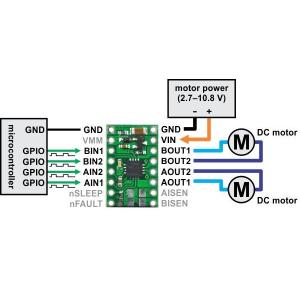 Pololu DRV8833 デュアルモータドライバボード|suzakulab|04