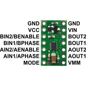 Pololu DRV8835 デュアルモータドライバボード|suzakulab|04