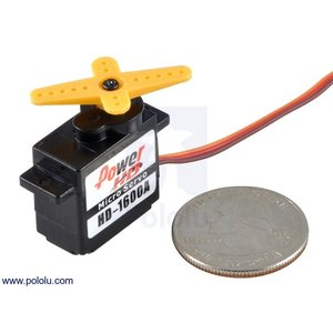 Power HD マイクロサーボ HD-1600A|suzakulab