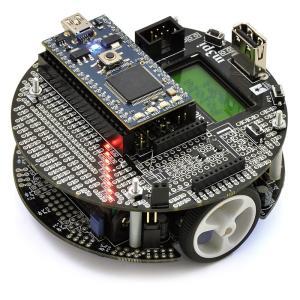 Pololu m3pi ロボット + mbed NXP LPC1768 開発ボード 組付け製品|suzakulab