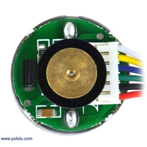 Pololu 34:1 金属ギヤードモータ 25Dx52L mm HP 6V 48CPRエンコーダ付き|suzakulab|02
