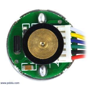 Pololu 99:1 金属ギヤードモータ 25Dx54L mm LP 6V 48CPRエンコーダ付き suzakulab 02