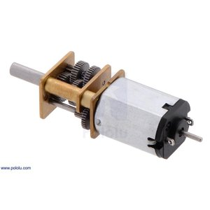 Pololu 1000:1 金属マイクロギヤードモータ HP 6V 両軸仕様|suzakulab