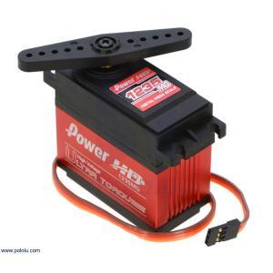 Power HD 超高トルク高電圧 デジタルジャイアントサーボ HD-1235MG|suzakulab