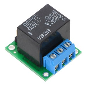 Pololu ベーシック SPDT リレーボード 12VDC リレー付(組立て済み)|suzakulab