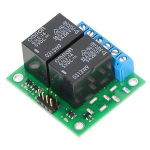 Pololu ベーシック 2チャンネル SPDT リレーボード 5VDC リレー付き(組立て済み)|suzakulab