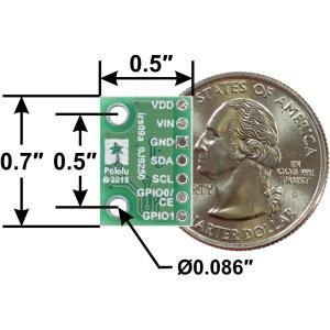 Pololu Time of Flight光学測距モジュールVL6180X 定電圧レギュレータ付き|suzakulab|04