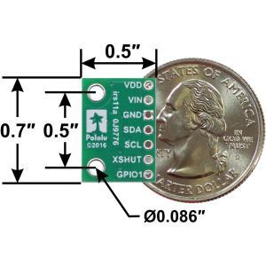 Pololu Time of Flight光学測距モジュール(最大200cm) VL53L0X 定電圧レギュレータ付き|suzakulab|06