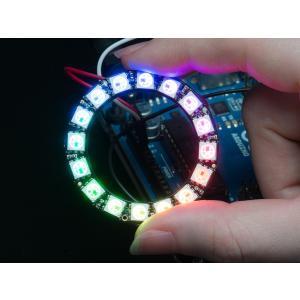 Adafruit NeoPixel LED16個 1リング|suzakulab