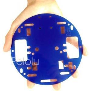 Pololu ロボットシャーシ RRC01A ブルー suzakulab