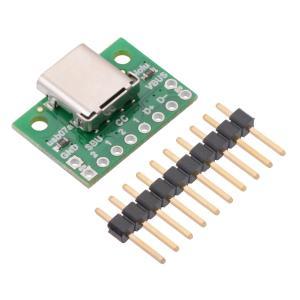 Pololu USB 2.0 Type-C コネクタブレイクアウトボード|suzakulab