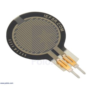 Pololu 圧力センサ(FSR) 15mm 円形 (短)|suzakulab