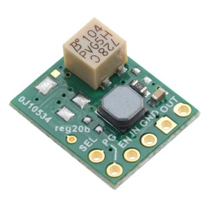 Pololu 2.5~9V 1.5A 出力微調整付き昇降圧型可変電圧レギュレータ S9V11MA|suzakulab