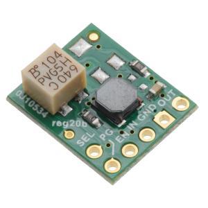 Pololu 5V 1.5A 昇降圧型定電圧レギュレータ 低圧カットオフ調整機能付 S9V11F5S6CMA|suzakulab