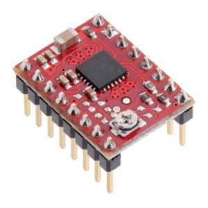 Pololu MP6500ステッピングモータドライバボード ポテンショメータ式電流制御 (ヘッダーピン実装済み)|suzakulab