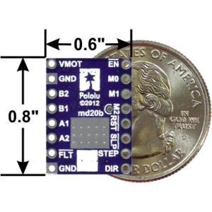 Pololu DRV8825 大電流ステッピングモータドライバボード (バルク品 ピンヘッダ無し)|suzakulab|02