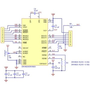 Pololu DRV8825 大電流ステッピングモータドライバボード (バルク品 ピンヘッダ無し)|suzakulab|04