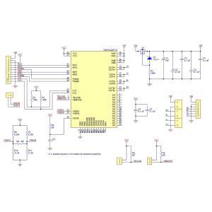 Pololu TB67H420FTGデュアル2ch/シングル1ch モータドライバボード|suzakulab|10