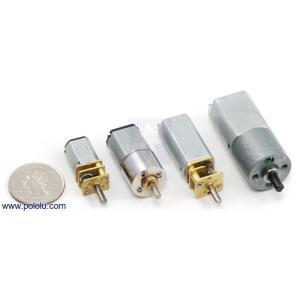 Pololu 100:1 金属マイクロギヤードモータ HPCB 12V 両軸仕様|suzakulab|04