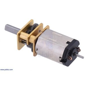 Pololu 5:1 金属マイクロギヤードモータ HPCB 6V 両軸仕様 suzakulab