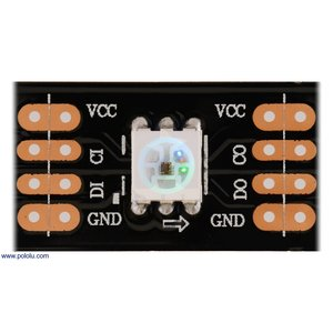 テープLED フルカラーLED72個(高密度) 個別アドレス 5V 0.5m (SK9822)|suzakulab|03