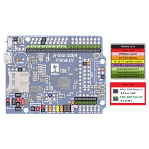 Pololu A-Star 32U4 Prime SV (microSD対応品) suzakulab 03
