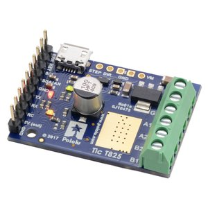 Pololu Tic T825 USB マルチインタフェース ステッピングモータコントローラ (ハンダ付済み)|suzakulab