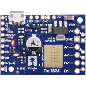 Pololu Tic T825 USB マルチインタフェース ステッピングモータコントローラ (ハンダ付済み)|suzakulab|04