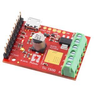 Pololu Tic T500 USB マルチインタフェース ステッピングモータコントローラ (ハンダ付済み)|suzakulab