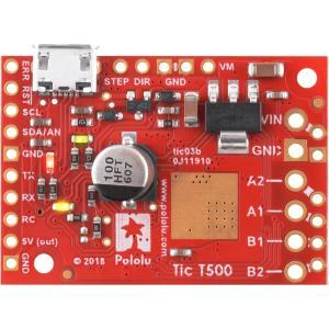 Pololu Tic T500 USB マルチインタフェース ステッピングモータコントローラ (ハンダ付済み)|suzakulab|06