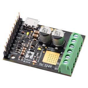 Pololu Tic T249 USB マルチインタフェース ステッピングモータコントローラ (ハンダ付済み)|suzakulab