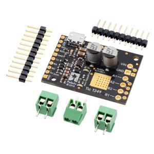 Pololu Tic T249 USB マルチインタフェース ステッピングモータコントローラ|suzakulab