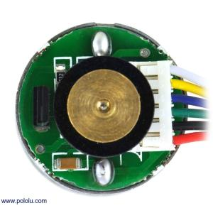 Pololu 47:1 金属ギヤードモータ 25Dx52L mm HP 12V 48CPRエンコーダ付き|suzakulab|02
