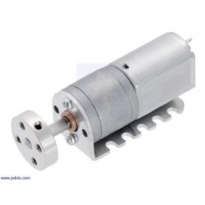 Pololu 100:1 金属ギヤードモータ 20Dx44L mm 6V 両軸仕様|suzakulab|04