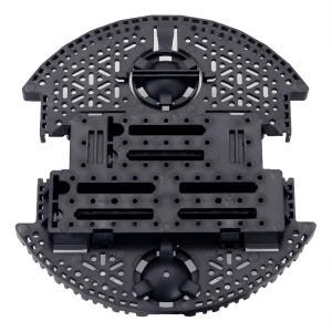 Pololu Romi シャーシベースプレート ブラック 在庫品|suzakulab