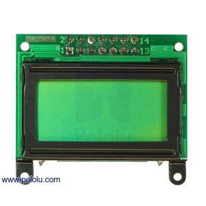 Pololu LCDキャラクタディスプレイ 8x2行 (パラレル通信) 黒縁|suzakulab
