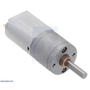 Pololu 63:1 金属ギヤードモータ 20Dx43L mm 6V CB|suzakulab