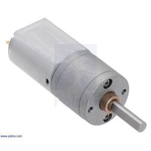Pololu 100:1 金属ギヤードモータ 20Dx44L mm 6V CB|suzakulab