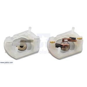 Pololu 100:1 金属ギヤードモータ 20Dx44L mm 6V CB 両軸仕様 suzakulab 03
