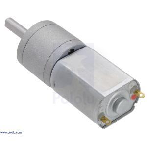 Pololu 100:1 金属ギヤードモータ 20Dx44L mm 6V CB 両軸仕様 suzakulab 05