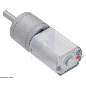 Pololu 100:1 金属ギヤードモータ 20Dx44L mm 6V CB 両軸仕様 suzakulab 07