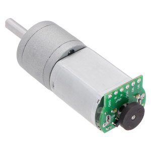 Pololu 195:1 金属ギヤードモータ 20Dx44L mm 6V CB 両軸仕様|suzakulab|12