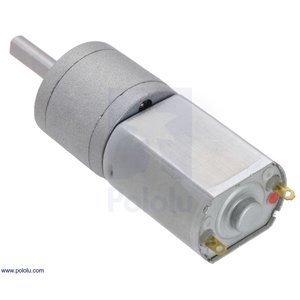 Pololu 195:1 金属ギヤードモータ 20Dx44L mm 6V CB 両軸仕様|suzakulab|05