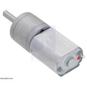 Pololu 195:1 金属ギヤードモータ 20Dx44L mm 6V CB 両軸仕様|suzakulab|07