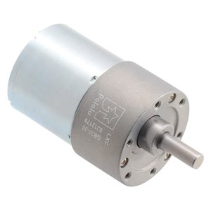 Pololu 30:1 24V金属ギヤードモータ 37Dx52L mm (ヘリカルピニオン版)|suzakulab