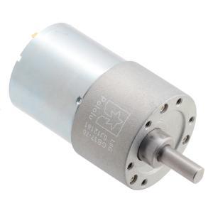 Pololu 70:1 24V金属ギヤードモータ 37Dx54L mm (ヘリカルピニオン版)|suzakulab