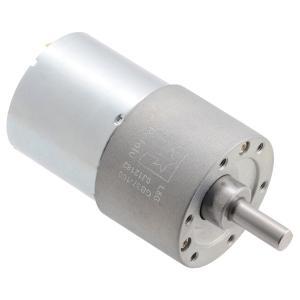 Pololu 100:1 24V金属ギヤードモータ 37Dx57L mm (ヘリカルピニオン版)|suzakulab