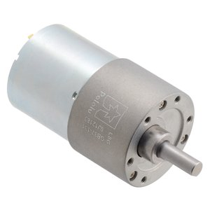 Pololu 131:1 24V金属ギヤードモータ 37Dx57L mm (ヘリカルピニオン版)|suzakulab