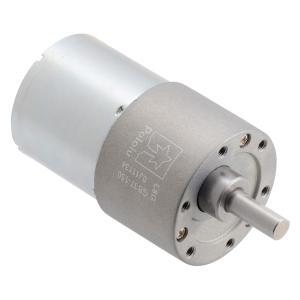 Pololu 150:1 24V金属ギヤードモータ 37Dx57L mm (ヘリカルピニオン版)|suzakulab