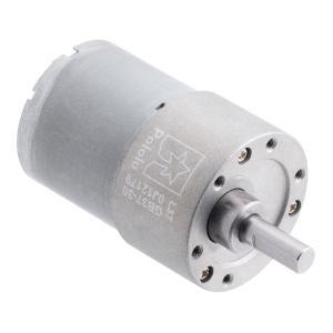 Pololu 30:1 12V金属ギヤードモータ 37Dx52L mm (ヘリカルピニオン版)|suzakulab